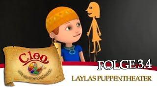 Cleo und die Kunstpiraten - Laylas Puppentheater, zu sehen auf DVD 3 (Trailer)