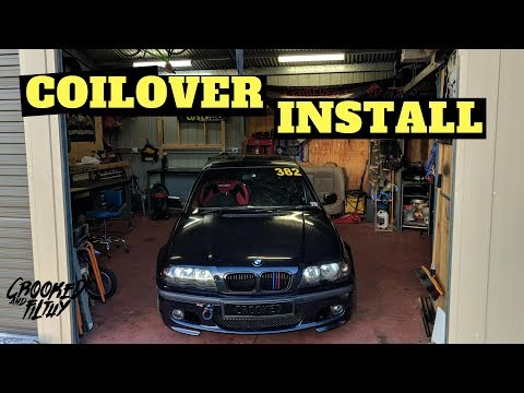 Time for some suspension | Coilover install | Ep018 - BMW e46 Track/Race/Drift car build