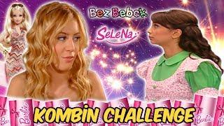 Selena Bez Bebek Barbie Kombin Challenge   Barbi Giydirme Oyunu Oyuncu Sobi