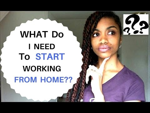 5 Basic Equipment You Will Need To Start Working From Home! (Starter Kit For Beginners)
