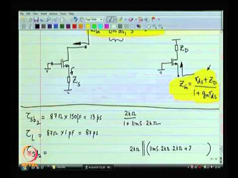 Mod-05 Lec-15 Bandwidth estimation constants (contd)