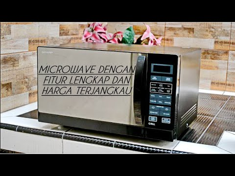 Review Microwave Oven Sharp R 728 K In