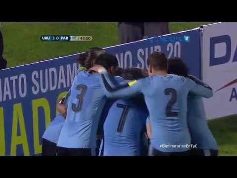 Uruguay 4 Paraguay 0 - TyC Sports (Martin Perazzo)