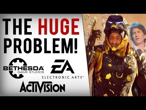 EA, Bethesda & Activision Losing Billions In 2019 & Things Continue Getting Worse...
