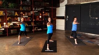 Yoga Workout For Happiness | Mandy Ingber Fitness | Class FitSugar