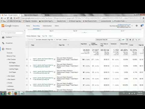 Google Analytics - Search Queries (#12)