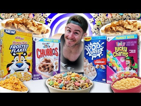 THE GREAT AMERICAN CEREAL SLAM CHALLENGE! (9,000+ CALORIES)