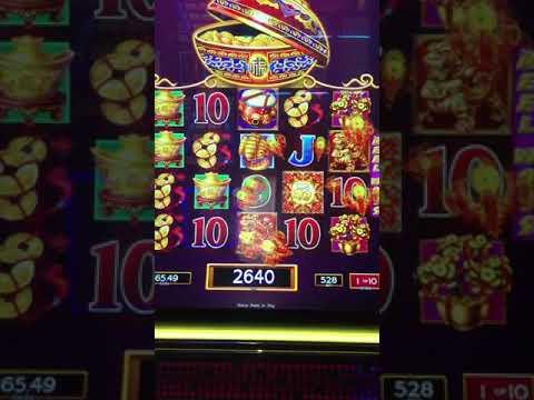Dancing Drums Slot machine $5.28 Bet BIG WIN!