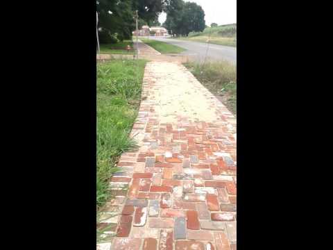Town of St Joseph, Louisiana, Recreational Walking Trail on Levee Street