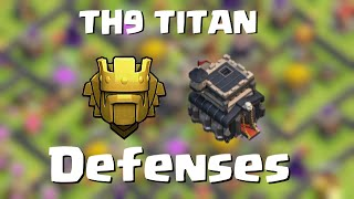 TH9 in Titan | Defense above 4600 cups | Quantum´s 8.9 | Clash of Clans