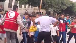 ينظم ماراطون الأطفال في طرف الهلال الاحمر الجزائري فرع الدويرة farid douera