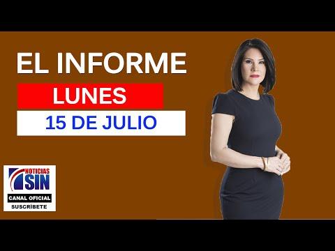 El Informe con Alicia Ortega 15/07/2019