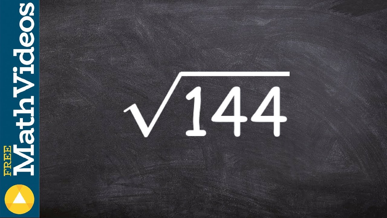 How To Evaluate The Square Root Of A Perfect Square Number Ex 3 Root 144 Youtube The product of two separate square roots is the same as the square root of their product. how to evaluate the square root of a perfect square number ex 3 root 144