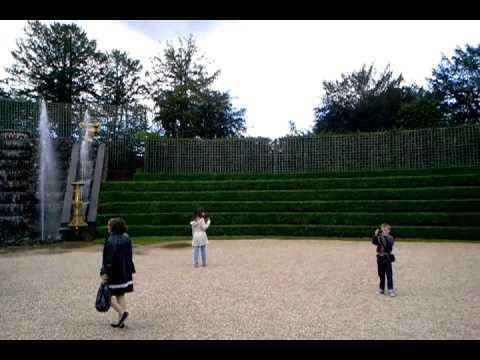 Versailles musical fountain