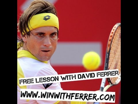 Tennis Strategy - How To Play In The Zone with David Ferrer
