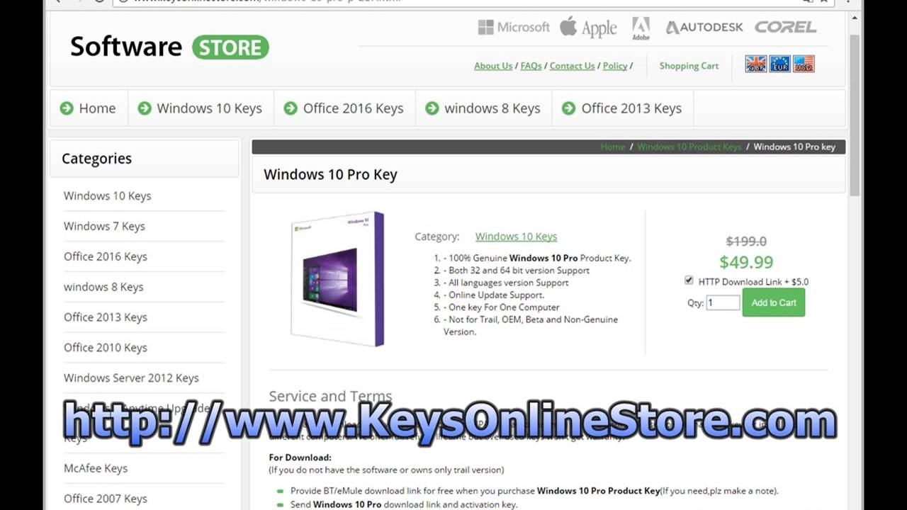 free windows 10 pro code