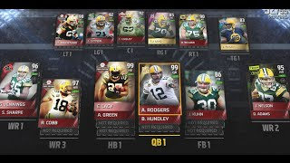 ALL TIME GREEN BAY PACKERS LINEUP! Roster Breakdown! Madden 15 Ultimate Team