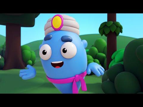 Мультфильм для детей Пузыри (Баблс) - Джинн (Серия 18)