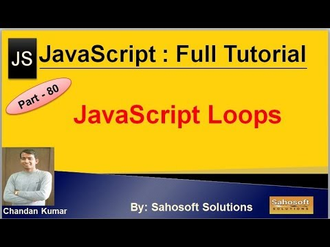 JavaScript Loops | JavaScript Full Tutorial in Hindi thumbnail