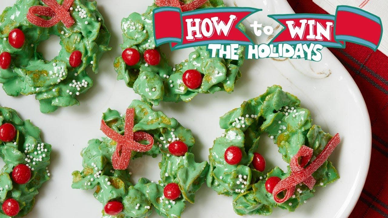 Cornflake Christmas Wreaths Food Network