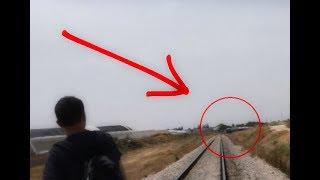פרצנו לתחנת רכבת נטושה?! || אנחנו כמעט מתנו!