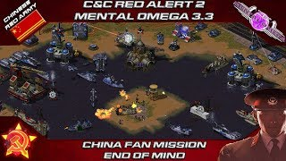 MENTAL OMEGA 3.3.4 - China Fan Mission, END OF MIND [Red Alert 2]