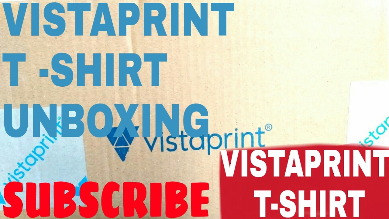 766c6f9c HINDI]vistaprint t-shirt review |How to make custom tshirt - YouTube