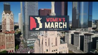 Women's March Los Angeles View From The Sky