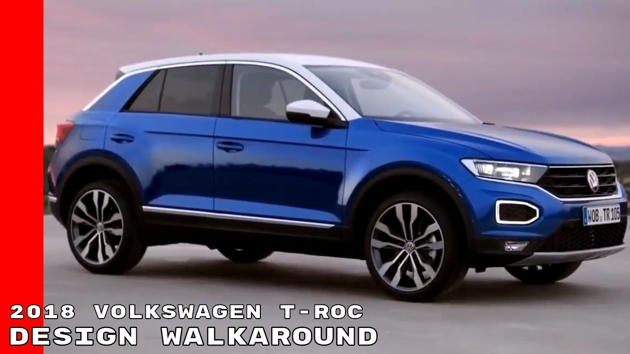 2018 volkswagen t roc design walkaround youtube. Black Bedroom Furniture Sets. Home Design Ideas