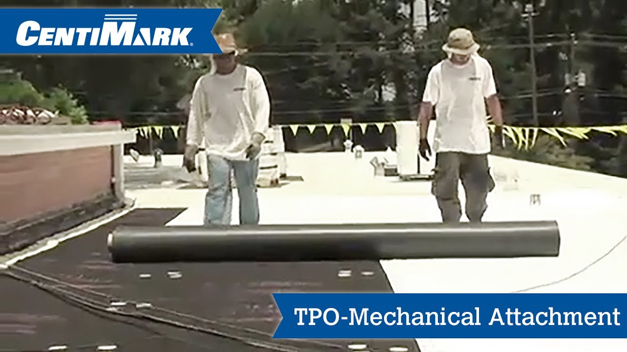 Attractive TPO Mechanical Attachment   Thermoplastic Roofing   CentiMark