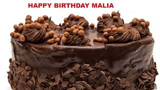Malia - Cakes Pasteles_511 - Happy Birthday