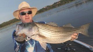 FOX Sports Outdoors SOUTHWEST #21 - 2015 Possum Kingdom Lake Texas Stripers