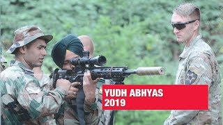 Yudh Abhyas 2019: Visuals from India-US joint military training exercise in Washington | ET