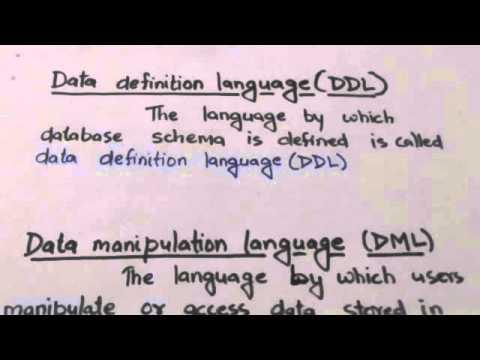 DBMS LANGUAGES(DBMS-4)