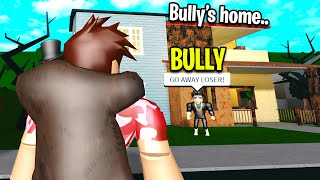 BULLY Had A Sad Secret.. I Changed His Life! (Roblox)