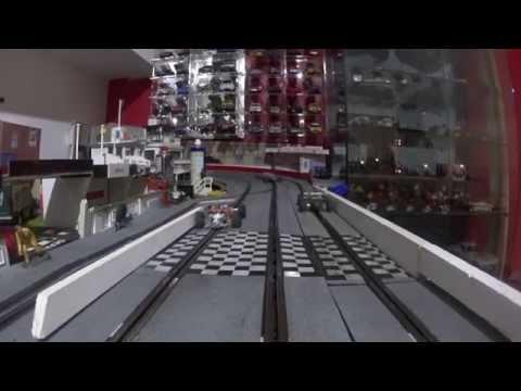 Scalextric – le Circuit des Opales – rails classic 3 voies – Slot – Béanico