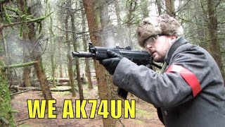 WE AK74UN At Section8 Scotland