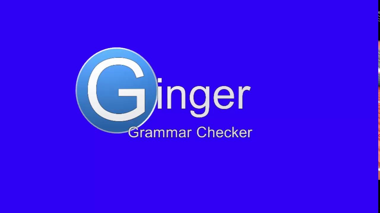 grammar check ginger