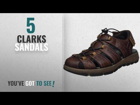 Top 10 Clarks Sandals [2018]: Clarks Men's Brixby Cove Closed Toe Sandals