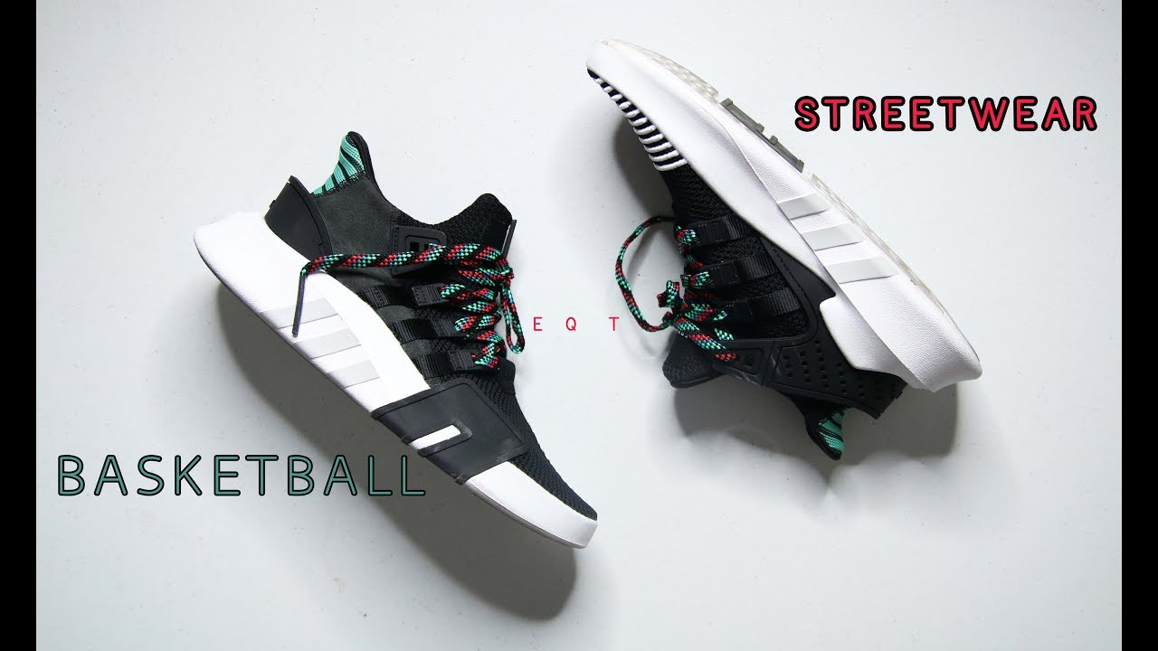 ad0112eef4c Adidas EQT BASK ADV Review    BASKETBALL STREETSTYLE SNEAKER  - YouTube