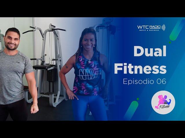 Dual Fitness | Isometría de Abdomen, Sentadillas, Braceo | Episodio 06