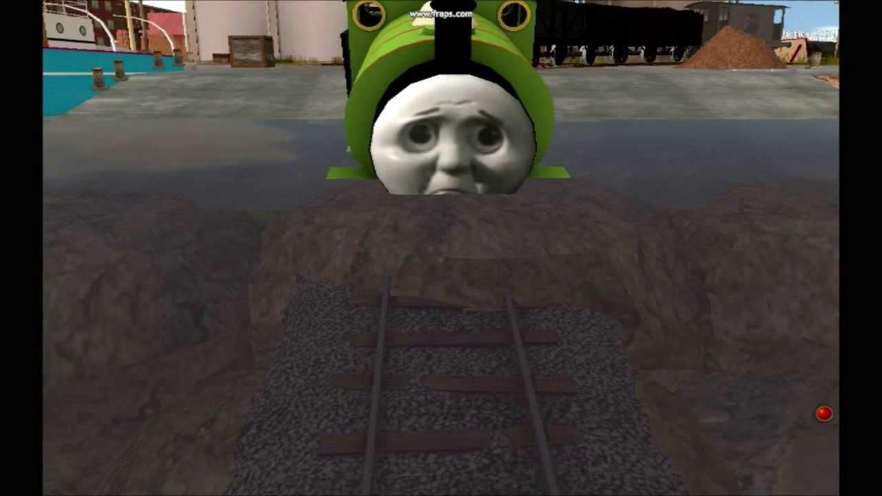 Thomas Trainz Remake - Percy Takes The Plunge