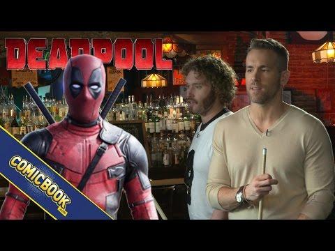 Deadpool Interview: Pool With Ryan Reynolds & TJ Miller At Sister Margaret's