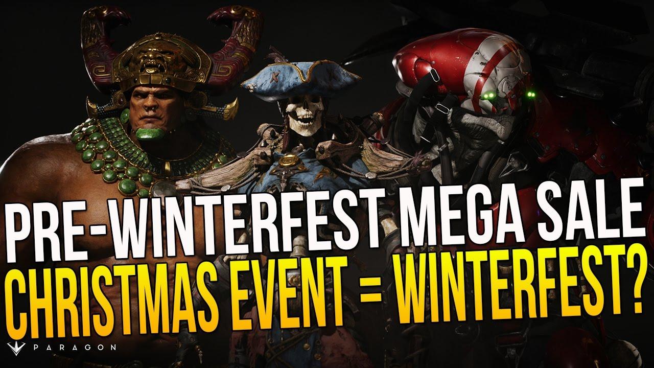 Paragon Pre-Winterfest & CHRISTMAS EVENT = WINTERFEST ...