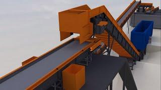 💎 3D визуализация производственной линии  - МЕГАЛИОН