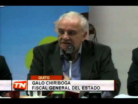 Chiriboga: Hechos 30-S configuraron intento golpe estado