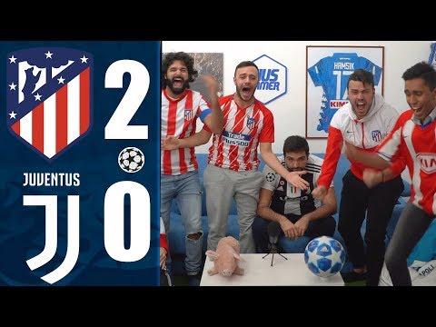 SENZA PALLE!!! ATLETICO MADRID 2-0 JUVENTUS | REACTION LIVE  w/Fius Gamer, Ohm