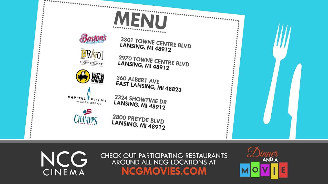 Ncg Dinner Movie Colors Lansing 4k Youtube