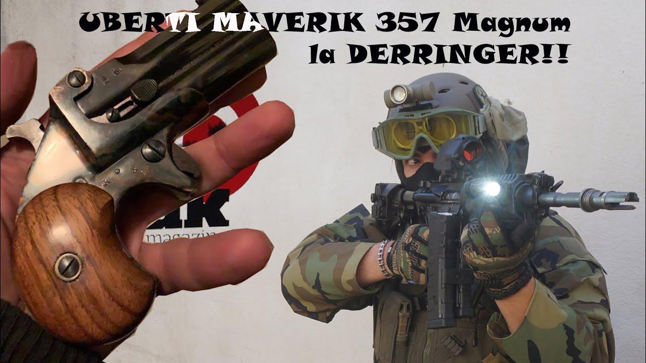 Derringer modello Maverik della Uberti cal.357 Magnum
