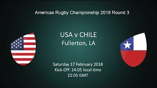 2018 Americas Rugby Championship - USA v Chile